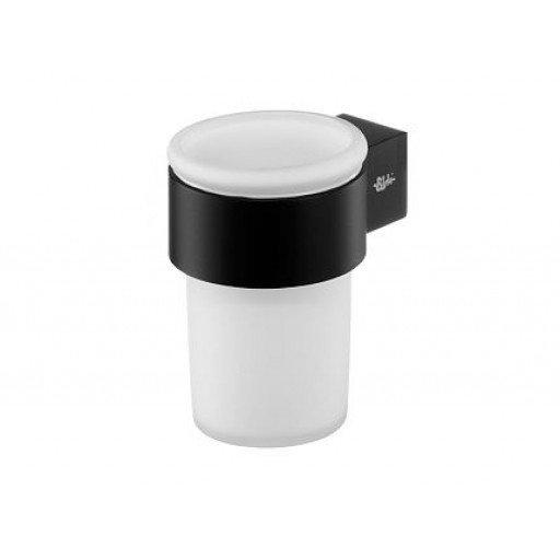 Чаша с поставка стенна Futura черен мат (Чаша със стойка черен мат Futura) на цени от 34.99 лв. само в dklux.com