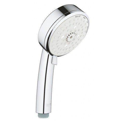 Подвижен душ многоструен GROHE Cosmopolitan Лукс (Ръчен душ с 4 струи New Tempesta Cosmopolitan 100) на цени от 66.00 лв. само в dklux.com