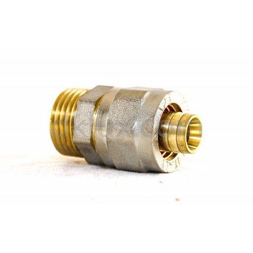"""APE преход МЪЖКИ Ф16х1/2"""" за многослойна тръба (APE адаптор за тръба pex-al-pex с външна резба Ф16х1/2"""") на цени от 3.19 лв. само в dklux.com"""